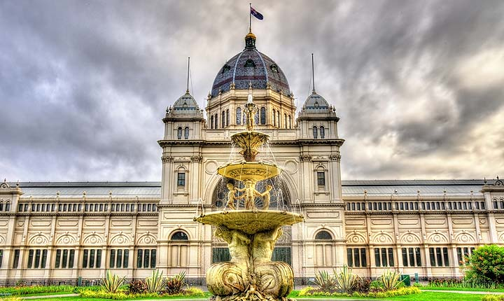 House sitting and pet sitting in Victoria, Australia - The Exhibition building in Melbourne