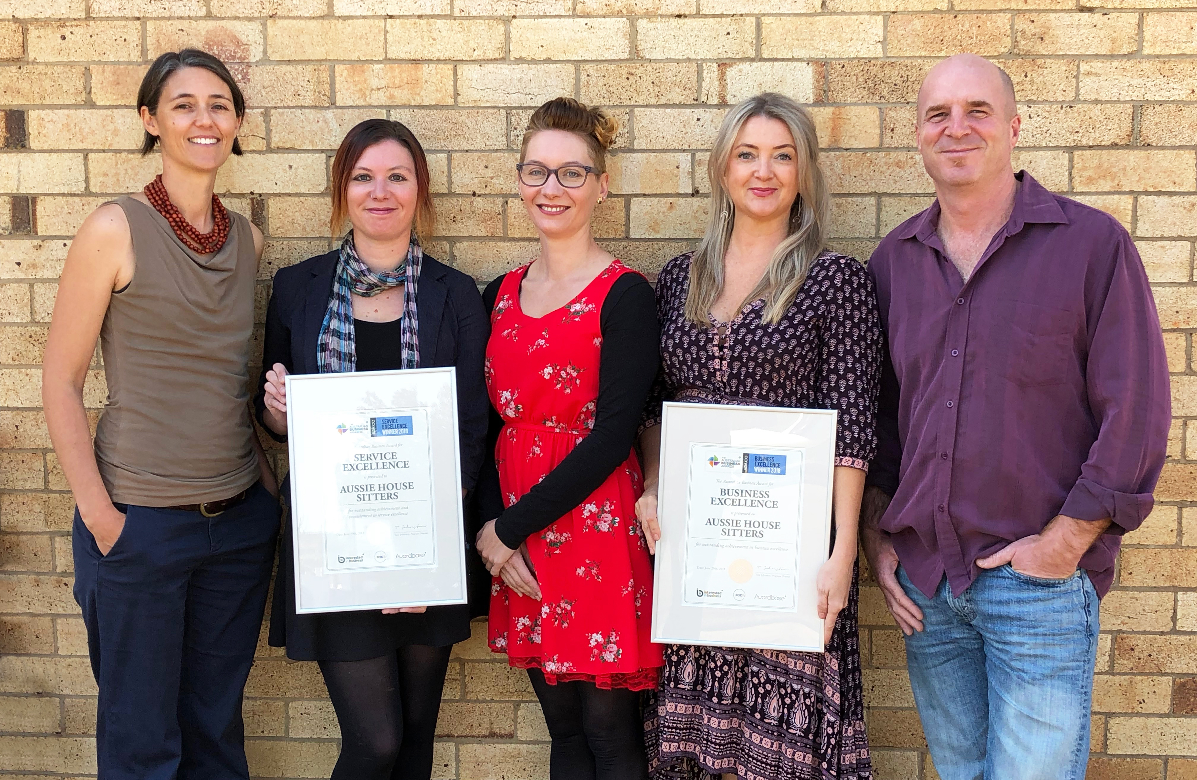 ABA100 Awards for Aussie House Sitters